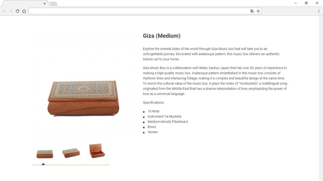 Gloya Product Description